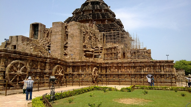 コナーラクのスーリヤ寺院